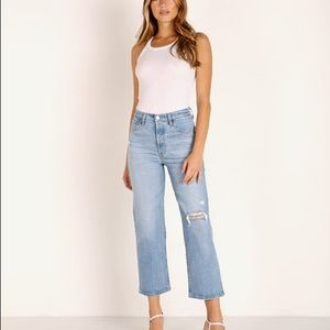 🆕 Levi's Ribcage Straight Ankle High Rise Jeans